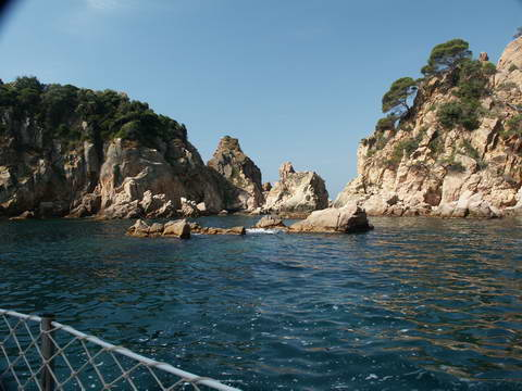 Between Sant Feliu de Guixols and Tossa de Mar