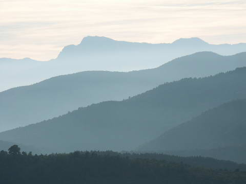 At the foot of the Pyrenean mountains, near Besal�